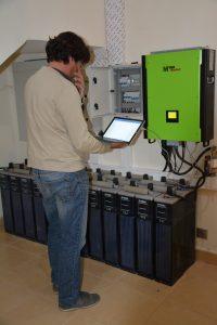 Onduleur de 10 kw et Batteries OPZS