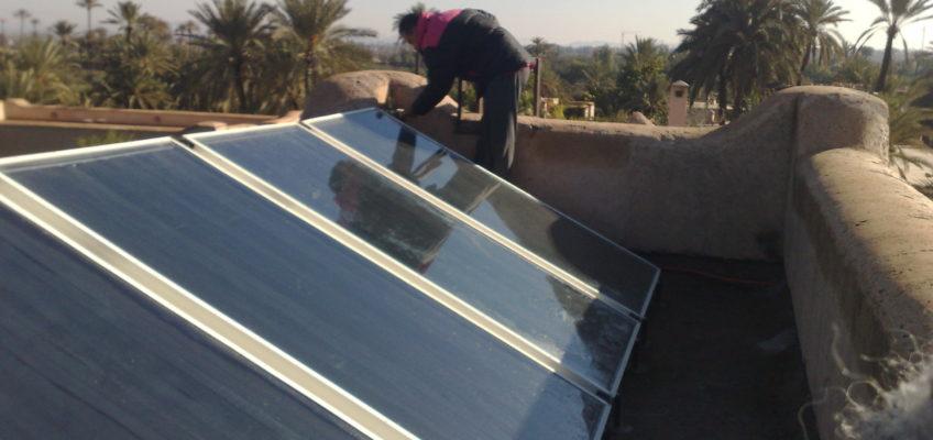 chauffe eau solaire a Marrakech